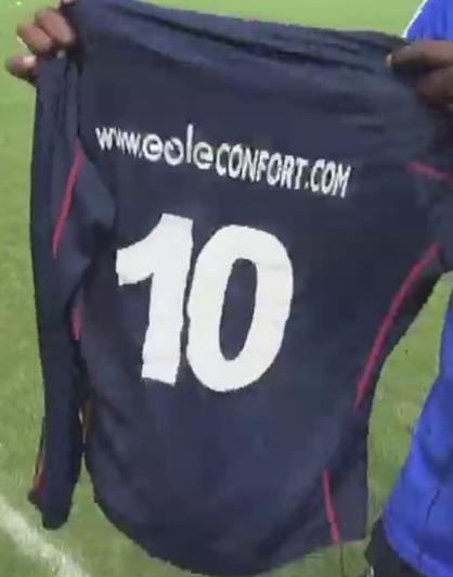 Paul POGBA-maillot EOLE CONFORT